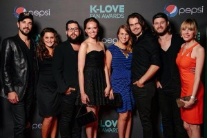 Rhett Walker Band and Wives on the Red Carpet