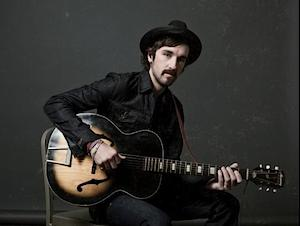 rhett walker harmony guitar black jacket fedora